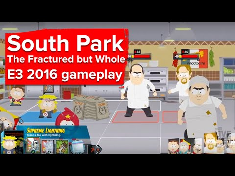 South Park: The Fractured But Whole gameplay demo - Ubisoft E3 2016