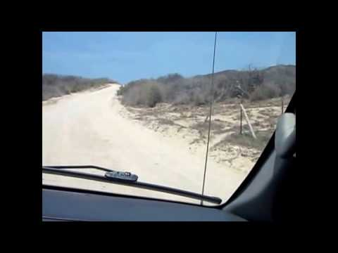 The Road in Cabo Pulmo and East Cape, Between La Paz and Cabo San Lucas, Baja California Sur, Mexico