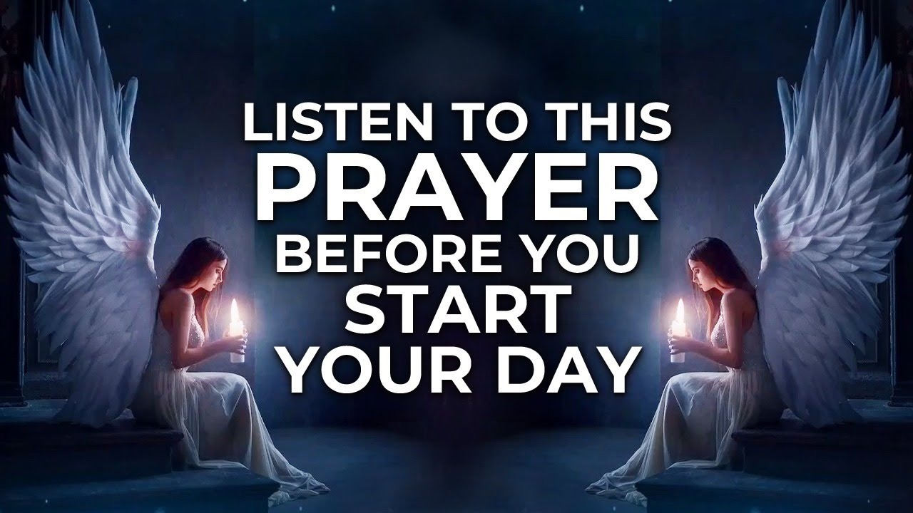 Start Everyday With This Prayer | Let God's Grace And Mercy Bless You Today