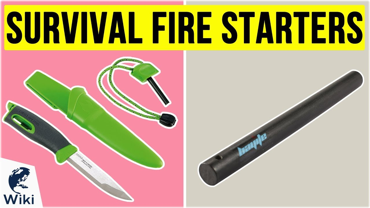 Outdoor Flint Starter Steel Striker Kit Camping Fire Starter Survival Lighter Q2