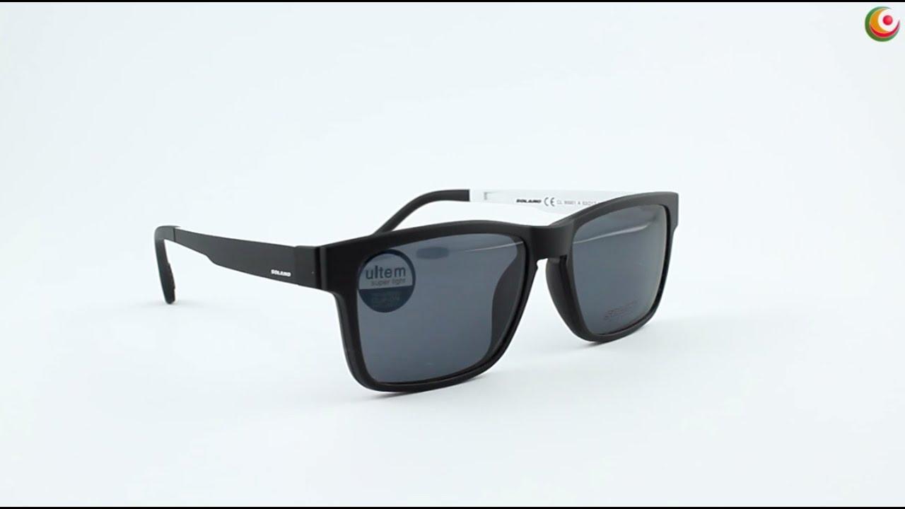 SOLANO CL 90001 A - előtétes szemüvegkeret - YouTube 32acf9d5a7