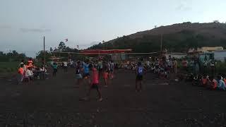 Sai sports club Dhrawad vs gadag volleyball match