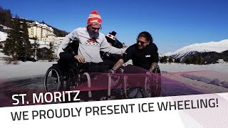 We proudly present Ice Wheeling! | IBSF Para Sport Official