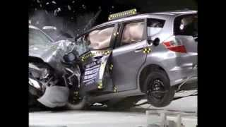 IIHS - Crash Test compatibility fail - Honda Accord vs Honda Jazz /Fit