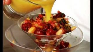 Recette de salade de fruits frais au basilic