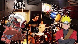 Kin Naruto Shippuden 19 Opening Blood Circulator AKFG Drum Cover Studio Quality