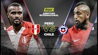 ⚽Perú vs Chile ⚽Partido¨completo¨amistoso internacional 🔥Perú 3 - 0 Chile 🔥y Conferencia de prensa🔥