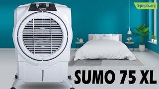 Symphony Sumo 75 XL Desert Air Cooler 75 L | Unboxing & Review Symphony Sumo 75 XL Air Cooler