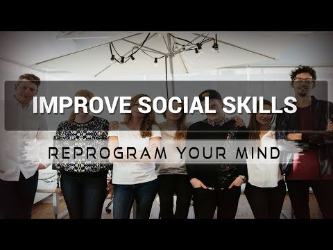 Improving Social Skills affirmations mp3 music audio - Law of attraction - Hypnosis - Subliminal