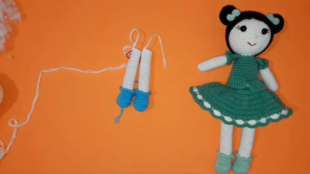 Örgü Oyuncak Miniş Bebek Tarifi, Amigurumi tarifler | 720x1280