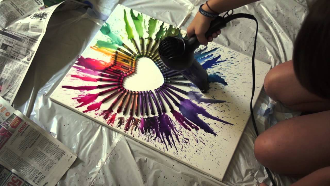 cool art projects to do at home