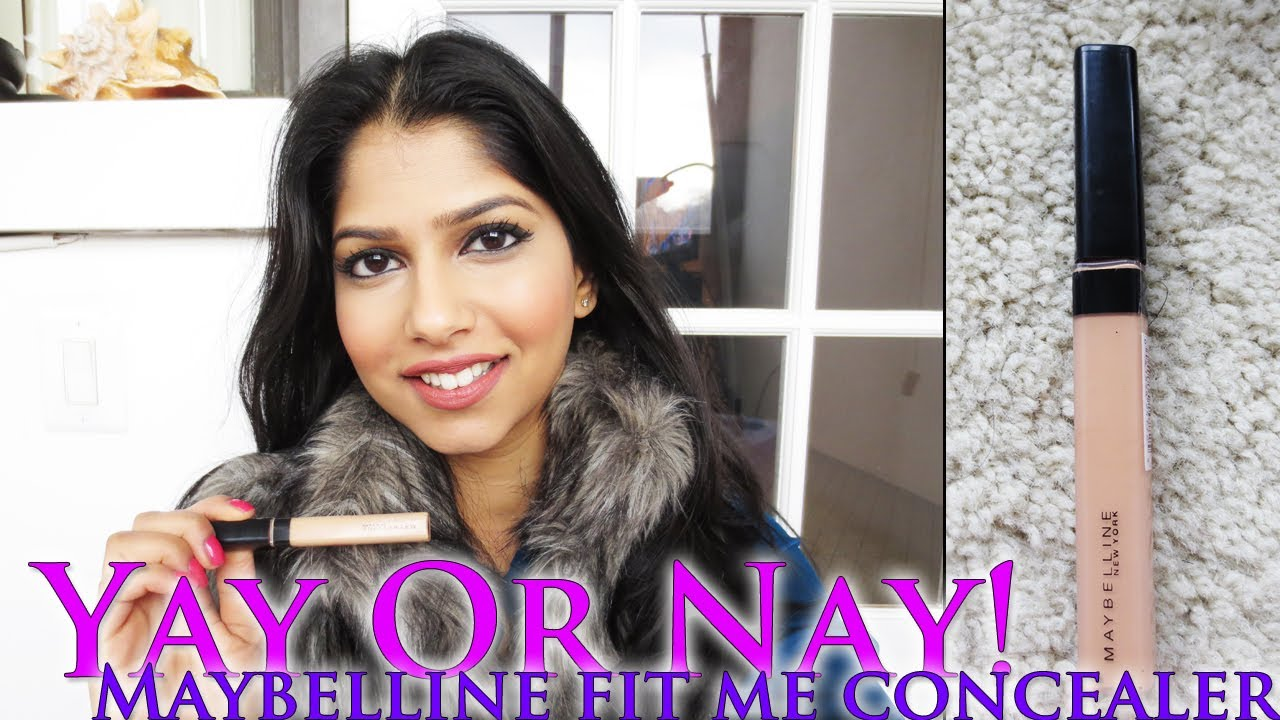 Yay Or Nay Maybelline Fit Me Concealer Youtube 20 Sand