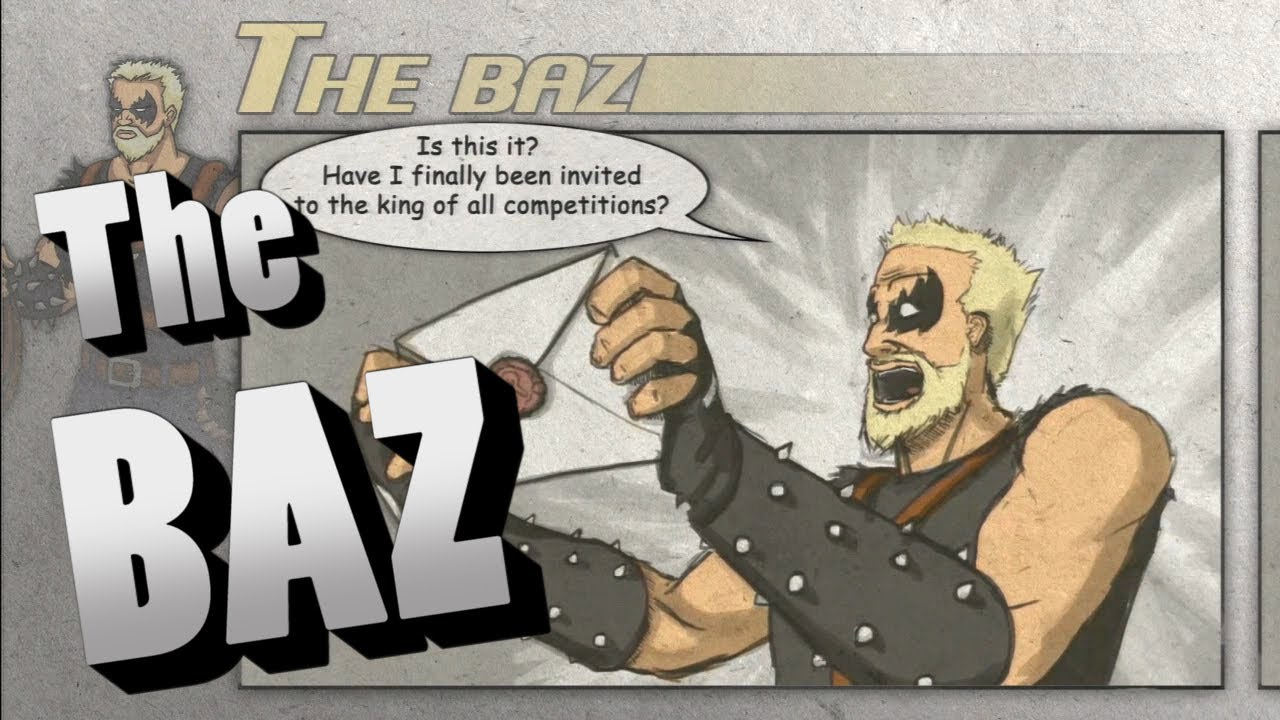 divekick the baz story intro events ending cutscenes hd youtube