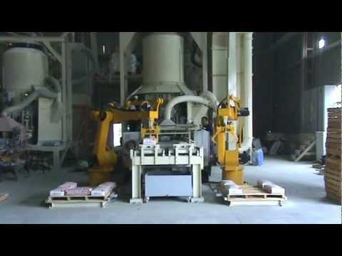 BERICOB- Palet Dizme Robotu