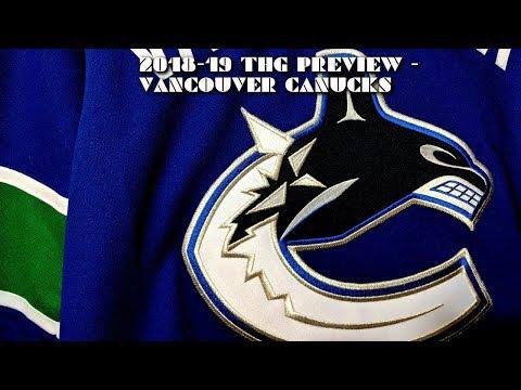 2018-19 Vancouver Canucks Season Preview