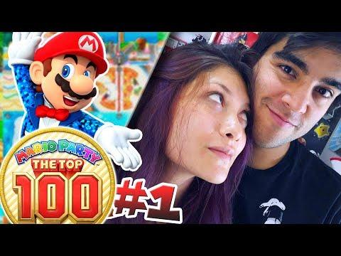 RELACIÓN EN PELIGRO!! ... DE NUEVO | ✨ Mario Party: The Top 100 ✨ | Con -- ALEX & YADIRA --