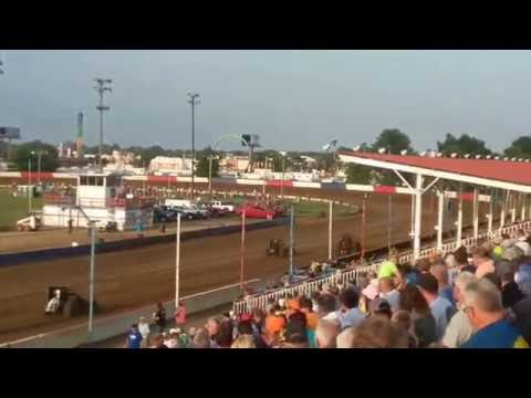 USAC Sprint Car Heat 1 Terre Haute Action Track