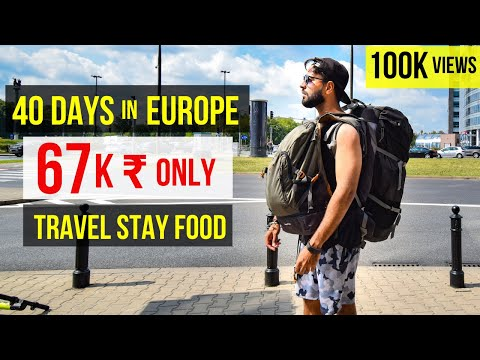 Budget Europe Trip from India | Travel Tips and Tricks