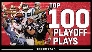 Top 100 Plays in Playoff History! | NFL Throwback