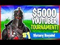🔴 $5000 Saturday Fortnite Tournament! (Fortnite: Battle Royale LIVE Gameplay)