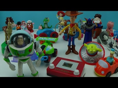 Woody Buzz 1999 McDonalds Kid/'s Happy Meal Bag of Toy Story 2 Jessie