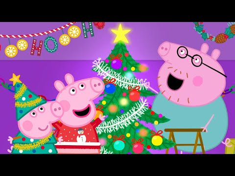 Peppa Pig Official Channel 🎄 Putting up Christmas Tree with Peppa Pig