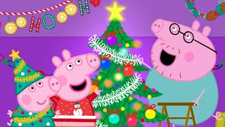 Peppa Pig Official Channel  Putting up Christmas Tree with Peppa Pig