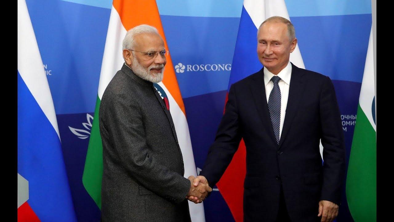 Press statements following Russian-Indian talks