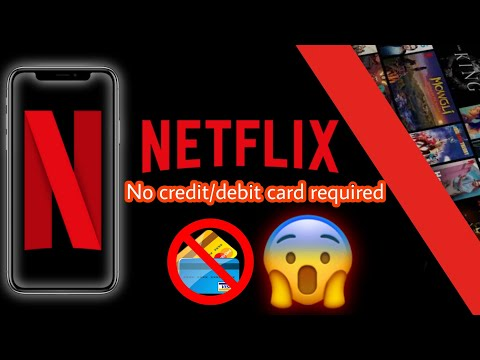 How To Get Netflix Without A Credit Or Debit Card