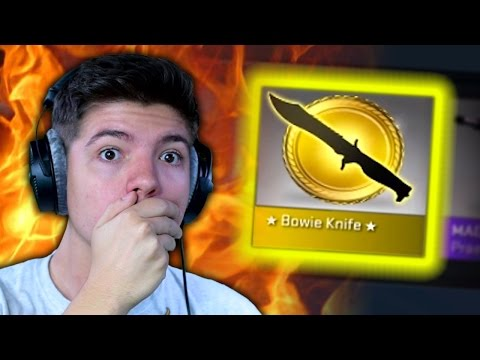 DID HE JUST GET A KNIFE?... | $1000 CS:GO CASE OPENING WAGER MATCH!