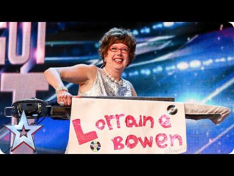 Golden buzzer act Lorraine Bowen won
