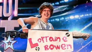 Golden buzzer act Lorraine Bowen won