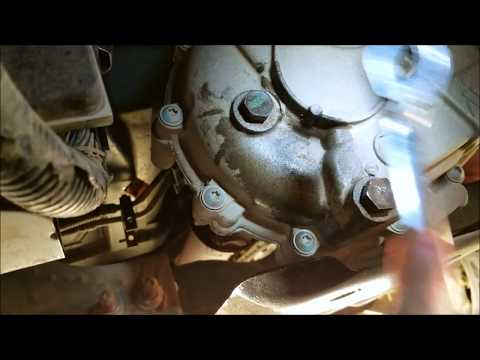 How To Change Your Transfer Case Fluid, Quick & Easy,  on a 2012 Silverado