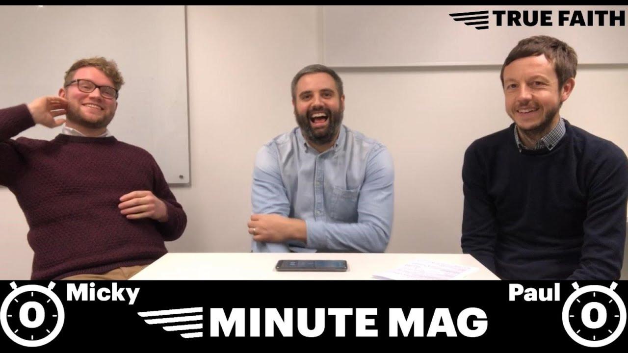 true faith presents Minute Mag - a Newcastle United game show