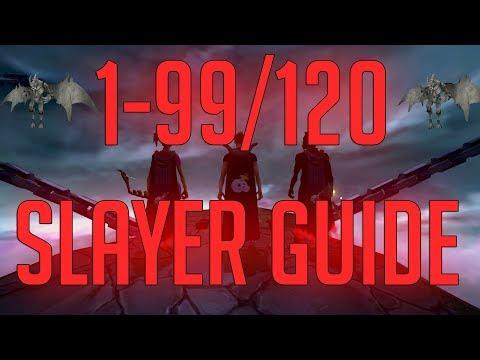 Runescape 3 - 1-99/120 Slayer Guide 2018