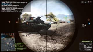 Battlefield 4 - Worst Tank Driver Ever (Battlefield 4 Max Settings PC)