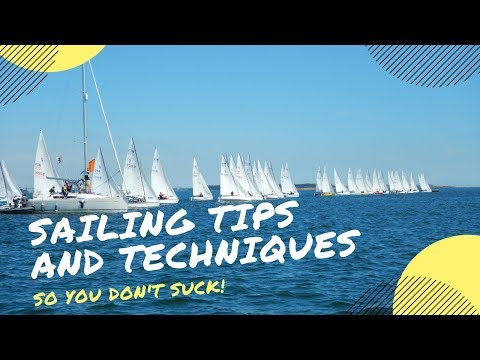 Lightning Sailboat Rigging And Racing Tips