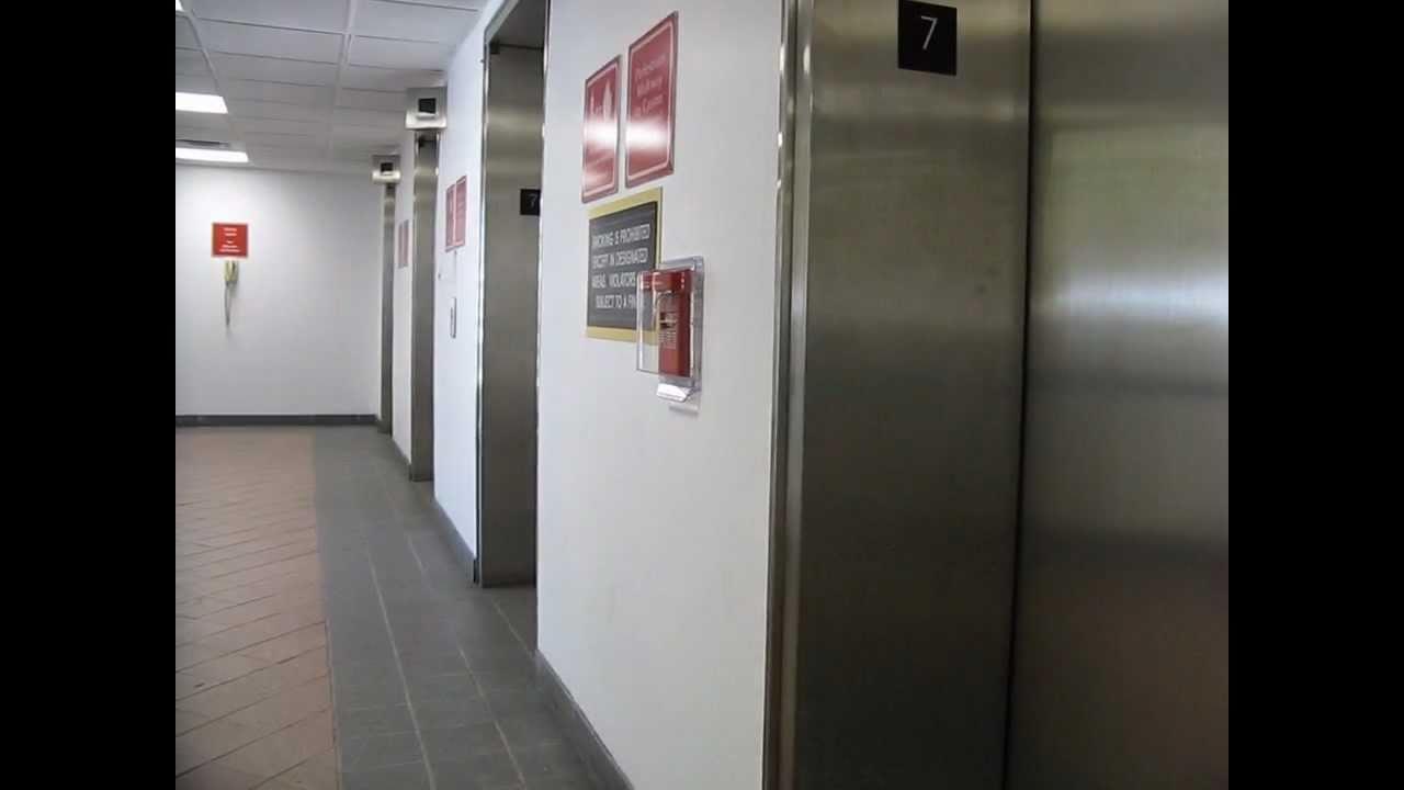 Garage Parking Stop >> Bally's Atlantic City Parking Garage Elevator - YouTube