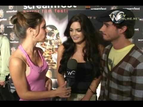 Jillian Murray  and Sean Wing   at  the World premiere of Forget me Not