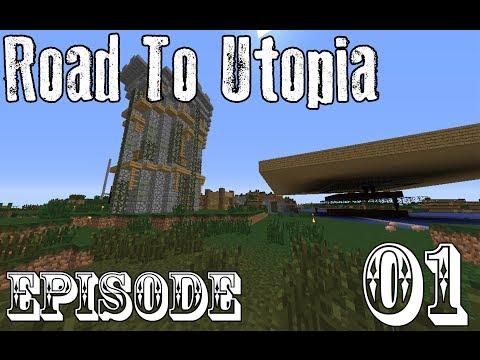 Road to Utopia - Minecraft: Road to Utopia :: S01 E01 - World Tour (Part 1/2)