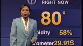 1995 Hurricane Allison -- New York City TV coverage