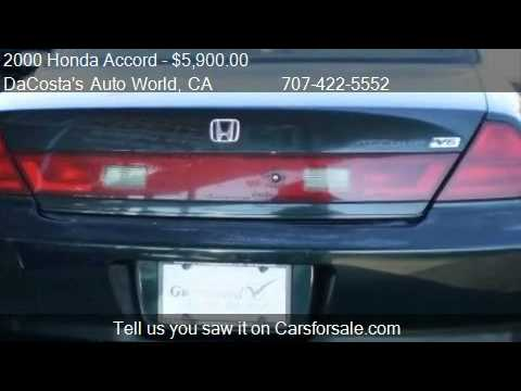 2000 Honda Accord EX V6 coupe - for sale in Fairfield, CA 94