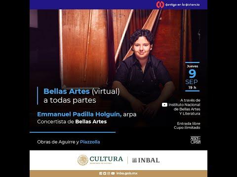 Conciertos (virtuales) de Bellas Artes / Emmanuel Padilla Holguín