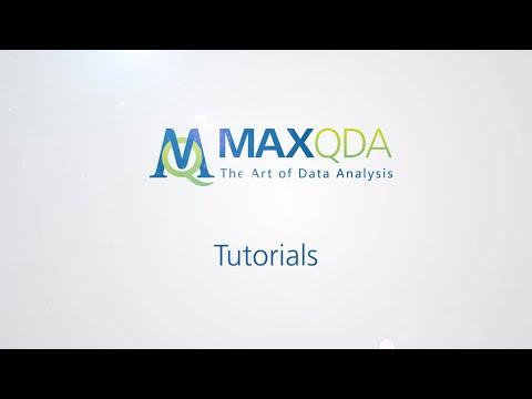 [2016] MAXQDA 12: (Lexikalische) Suche im Text und Autocodierenиз YouTube · Длительность: 5 мин33 с