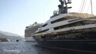 The Three Biggest Motor Yachts in Monaco