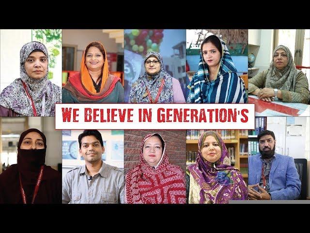 We Believe in Generation's