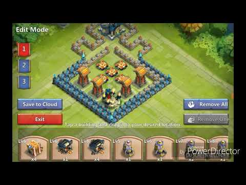 Castle Clash TH13 Corner Base