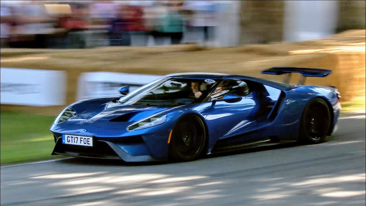 The Last Ford Gt Run On Sunday At Goodwood Festival Of Speed