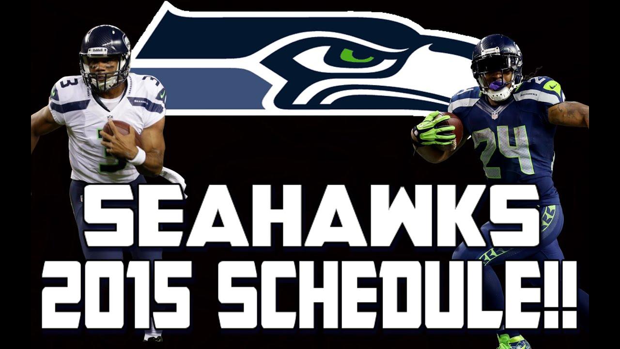 Seahawks Schedule Wallpaper 2016