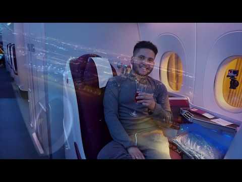 ✈ Airbus 350 XWB Business Class Flight Experience, QATAR AIRWAYS